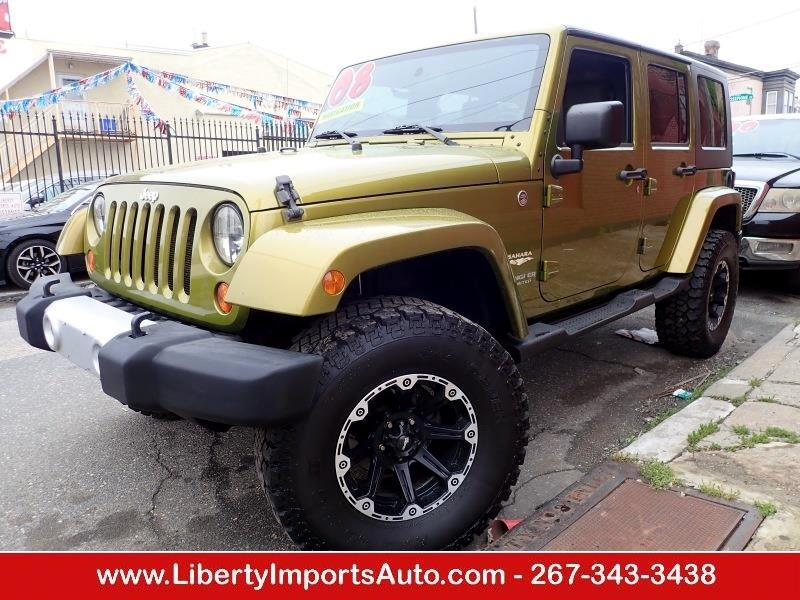 2008 Jeep Wrangler Unlimited Unlimited Sahara 4WD