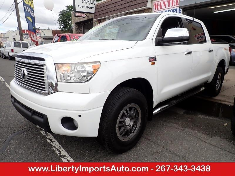 Used 2013 Toyota Tundra Limited 5 7L CrewMax 4WD for Sale in