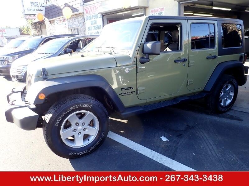 Jeep Wrangler Unlimited Unlimited Sport 4WD 2013