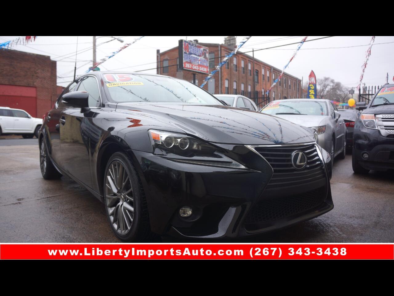 Lexus IS 250 RWD 2015