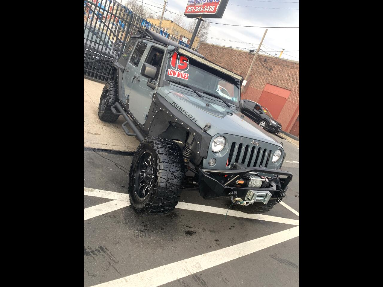 Jeep Wrangler Unlimited Rubicon 4WD 2015
