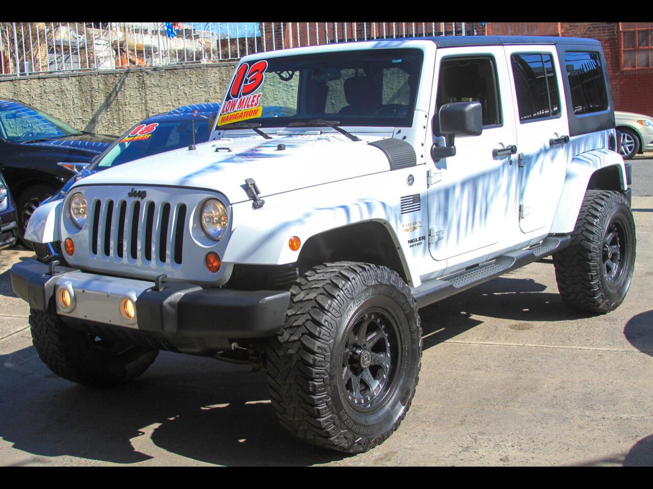 Jeep Wrangler Sahara Unlimited 2013