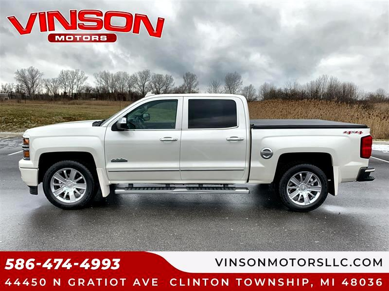 "Chevrolet Silverado 1500 4WD Crew Cab 143.5"" High Country 2015"