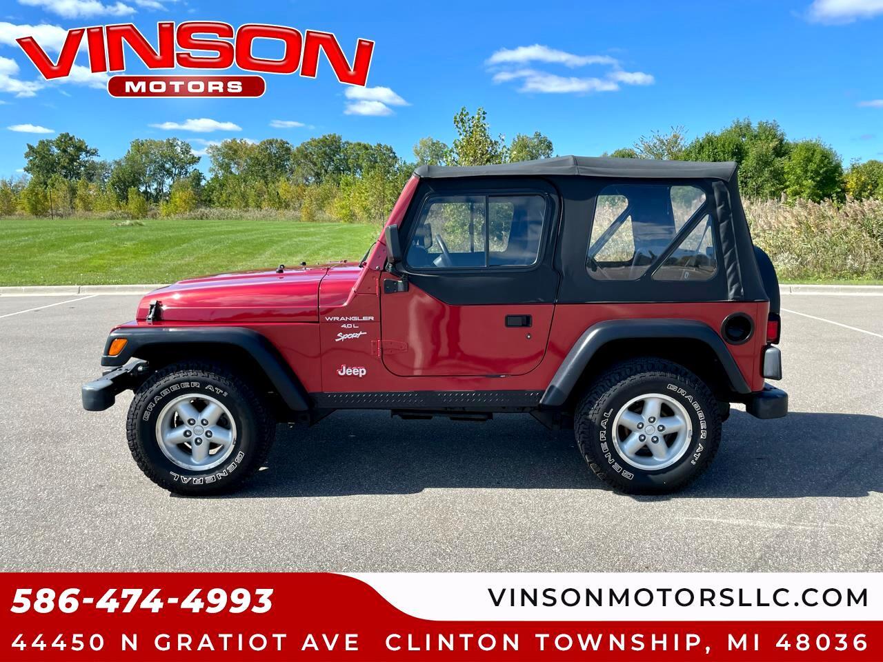 Jeep Wrangler 2dr Sport 1999