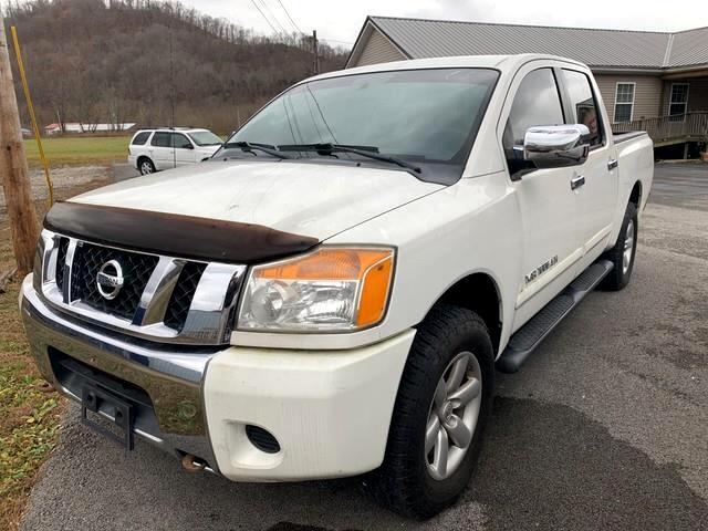 2010 Nissan Titan SE Crew Cab 4WD SWB