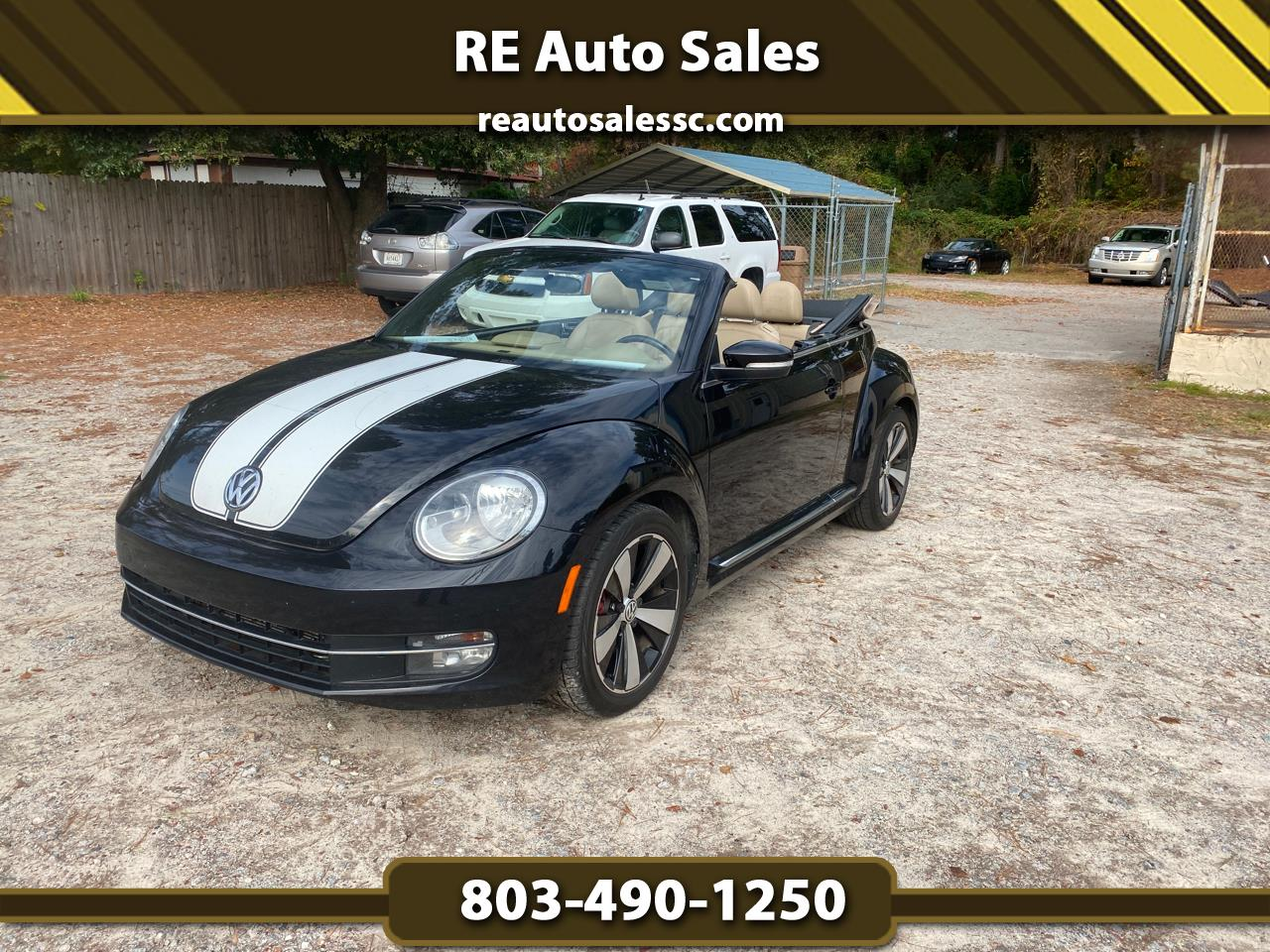 2013 Volkswagen Beetle 2.0T Turbo Convertible Fender Limited Edition