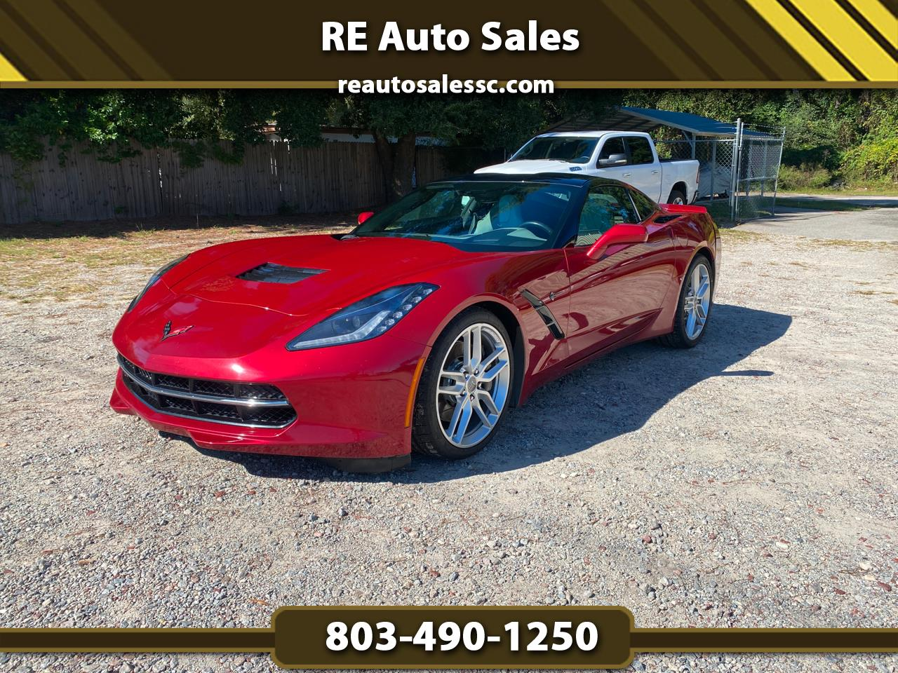 Chevrolet Corvette Stingray Z51 3LT Coupe Automatic 2014
