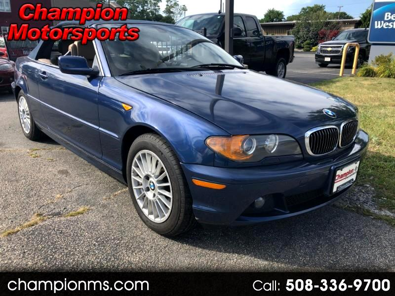BMW 3-Series 325Ci convertible 2004
