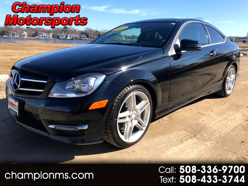 Used 2014 Mercedes Benz C Class C350 Coupe 4matic For Sale In