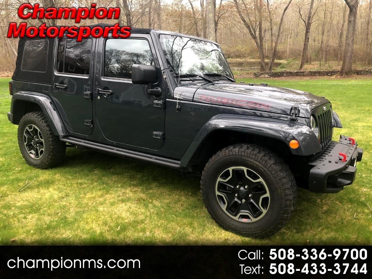 Jeep Wrangler Rubicon Hard Rock 4x4 *Ltd Avail* 2017