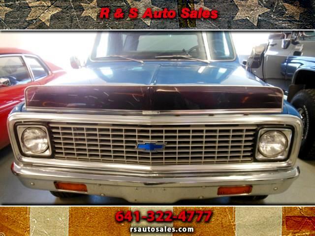 1972 Chevrolet Cheyenne Super C10