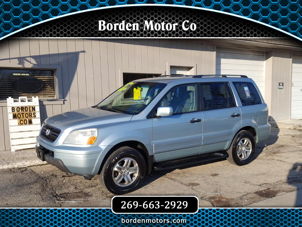 Honda Pilot 4WD EX Auto w/Leather/DVD 2003