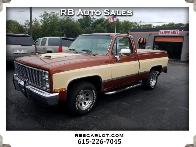 1987 Chevrolet R10 Regular Cab 2WD