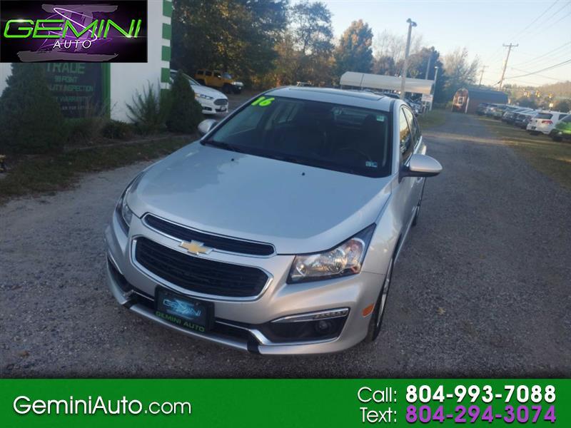 Chevrolet Cruze Limited 2LT Auto 2016
