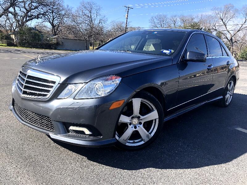 2010 Mercedes-Benz E-Class E350 Sedan