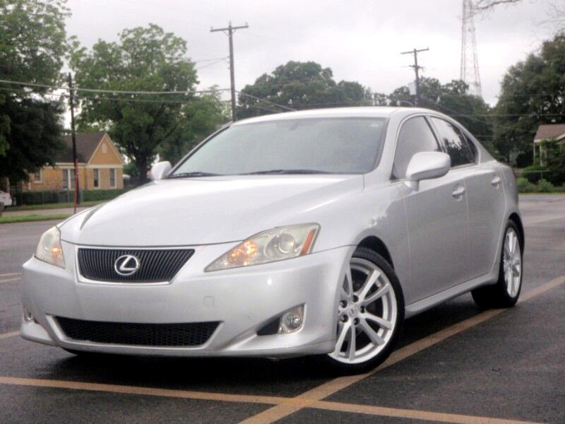 2007 Lexus IS IS 250 6-Speed Sequential