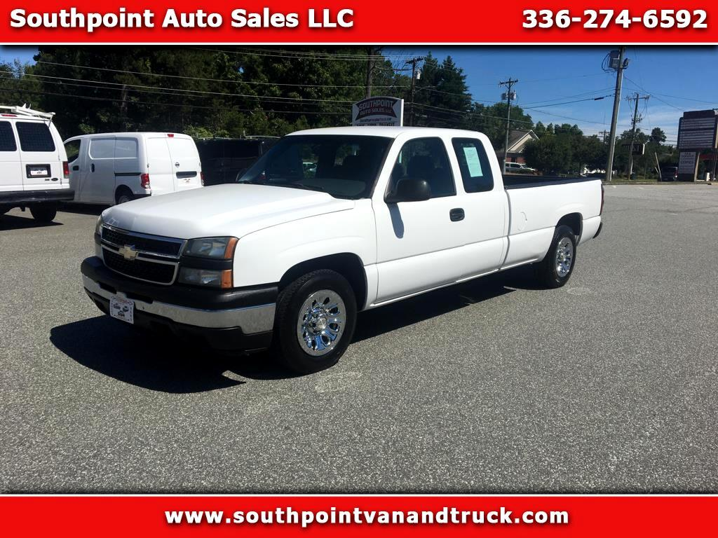 2007 Chevrolet Silverado Classic 1500 Work Truck Ext. Cab Long Box 2WD