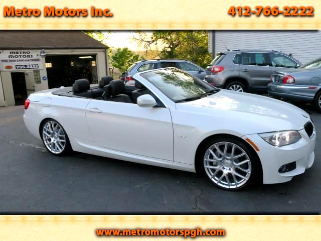 2011 BMW 3-Series 335i M Sport Convertible Twin Turbo