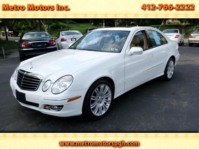 2008 Mercedes-Benz E-Class E 350 Luxury 4-Matic