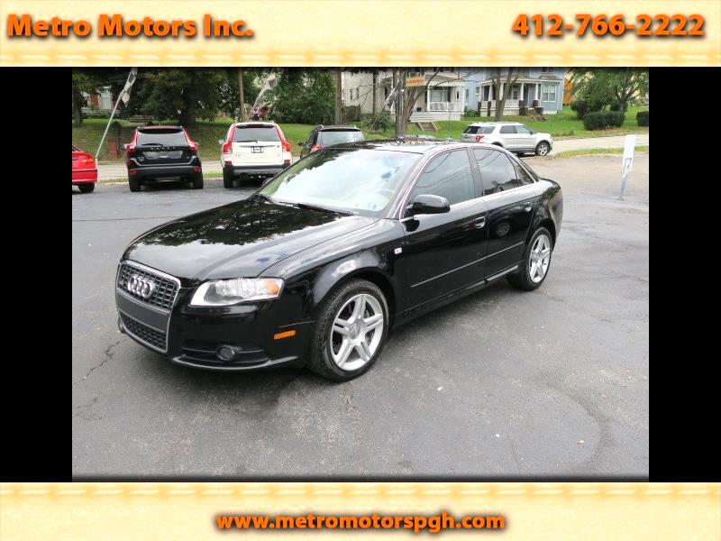 2008 Audi A4 2.0T quattro with Tiptronic