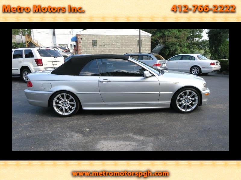 2006 BMW 3-Series 330Ci convertible