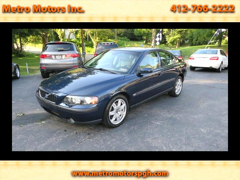 Used 2004 Volvo S60 2 5t Awd For Sale In Pittsburgh Pa 15202 Metro