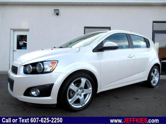 used 2015 chevrolet sonic ltz auto 5 door for sale in apalachin ny 13732 jeff kies auto sales. Black Bedroom Furniture Sets. Home Design Ideas