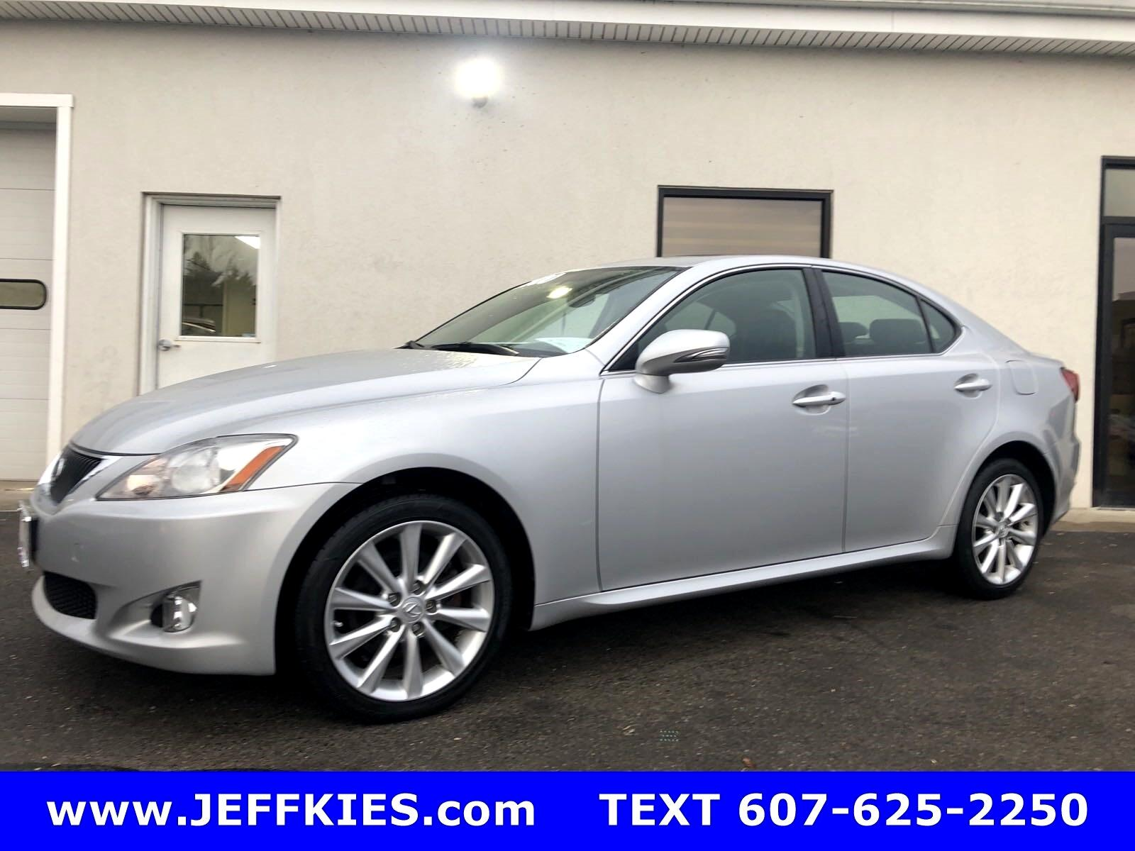 Lexus IS IS 250 AWD 6-Speed Sequential 2010