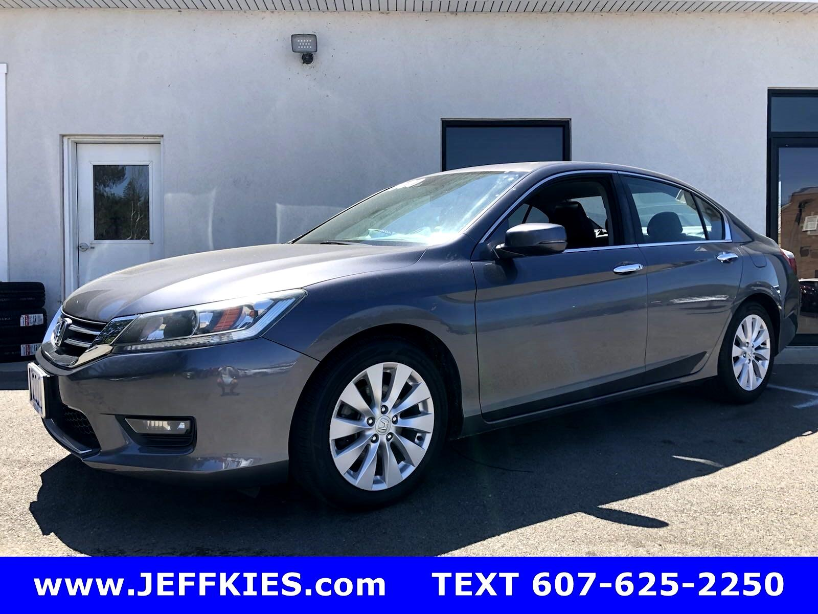 Honda Accord Sedan EX-L Sedan CVT 2015