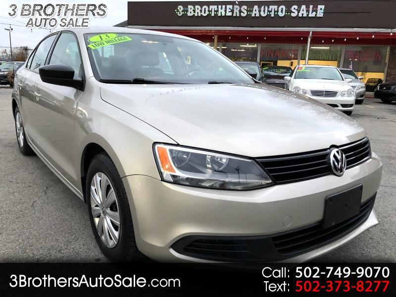 2013 Volkswagen Jetta Sedan 4dr Auto S w/Sunroof *Ltd Avail*