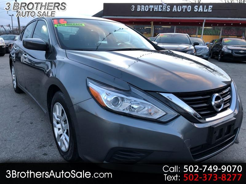 2016 Nissan Altima 4dr Sdn I4 2.5 S