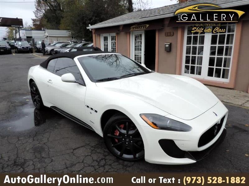 Maserati GranTurismo Sport Convertible 2012