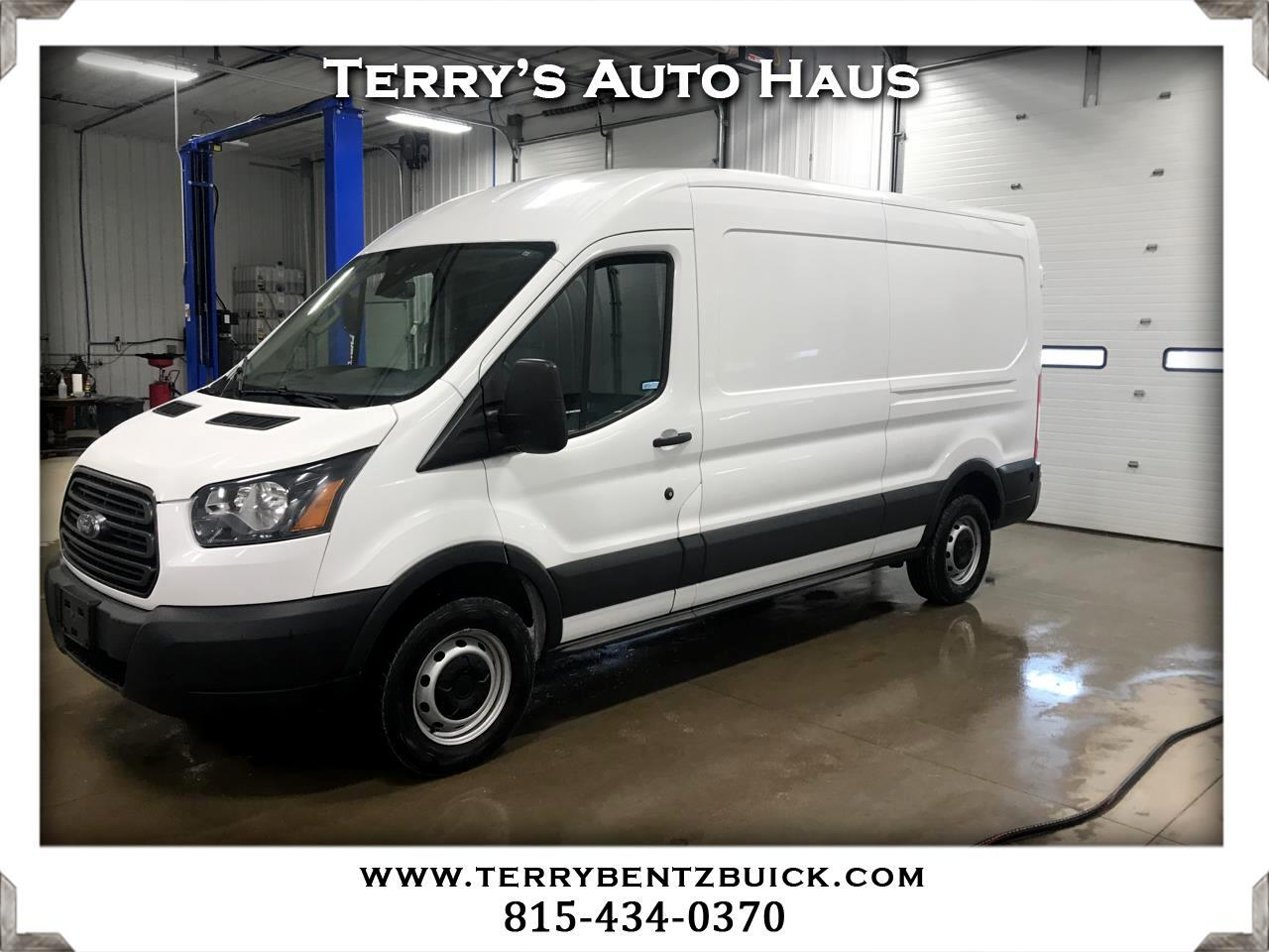 "2015 Ford Transit Cargo Van T-150 148"" Med Rf 8600 GVWR Sliding RH Dr"