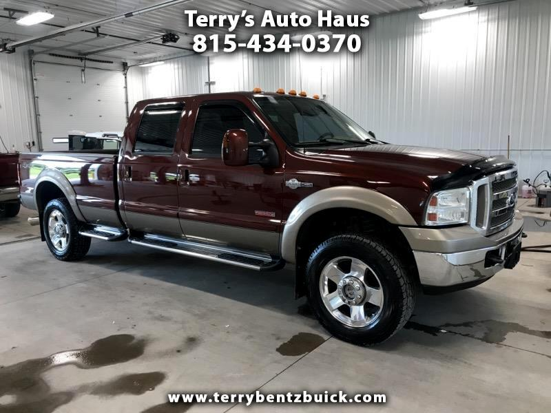 "2007 Ford Super Duty F-250 4WD Crew Cab 172"" King Ranch"