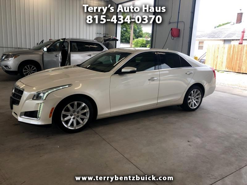 2014 Cadillac CTS Sedan 4dr Sdn 3.6L Luxury AWD
