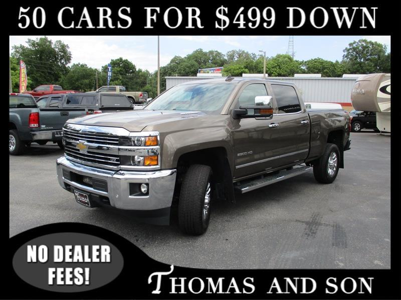 Chevrolet Silverado 2500HD LTZ Crew Cab Long Box 4WD 2015