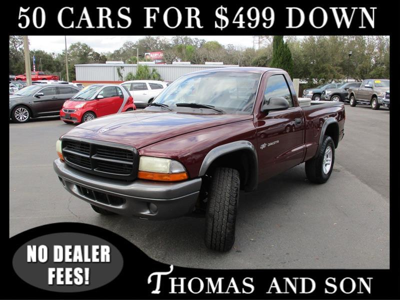 Dodge Dakota SXT 4WD 2002