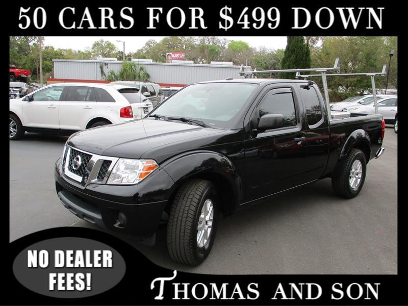 Nissan Frontier SV King Cab I4 5MT 2WD 2014