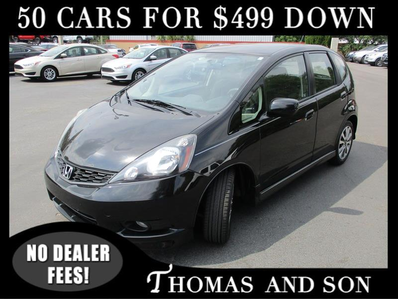 Honda Fit Sport 5-Speed AT with Navigation 2013