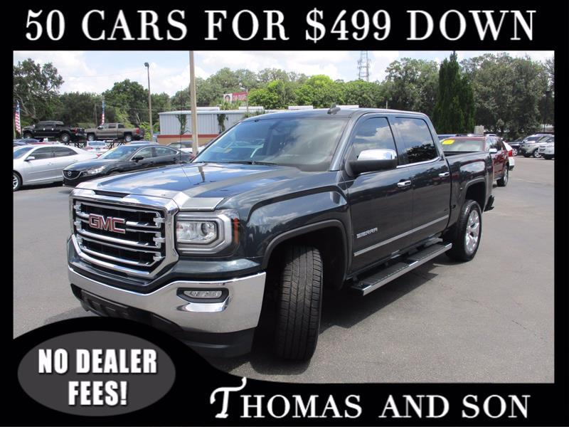 GMC Sierra 1500 SLT Crew Cab Long Box 2WD 2017