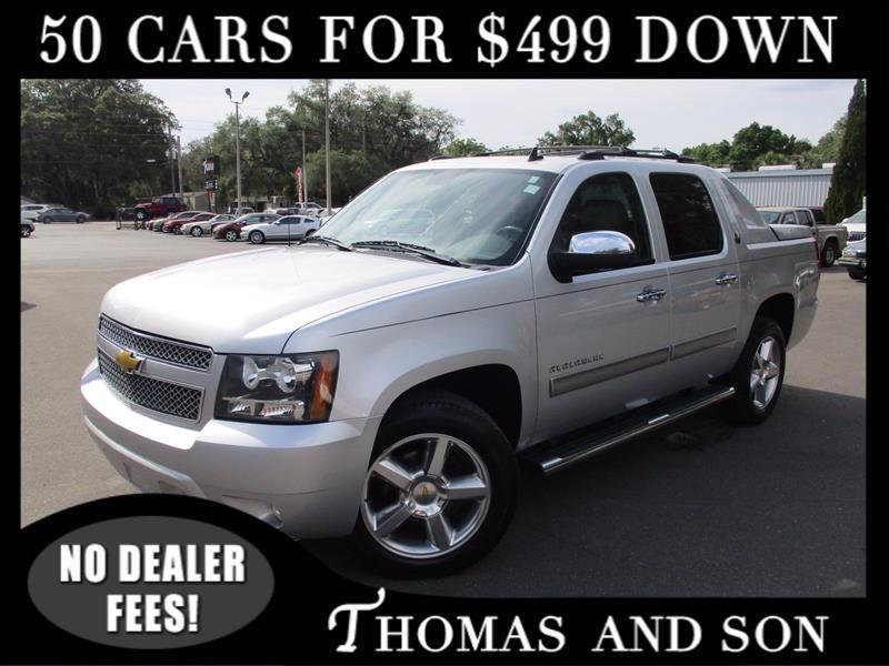 Chevrolet Avalanche LT 2WD 2013