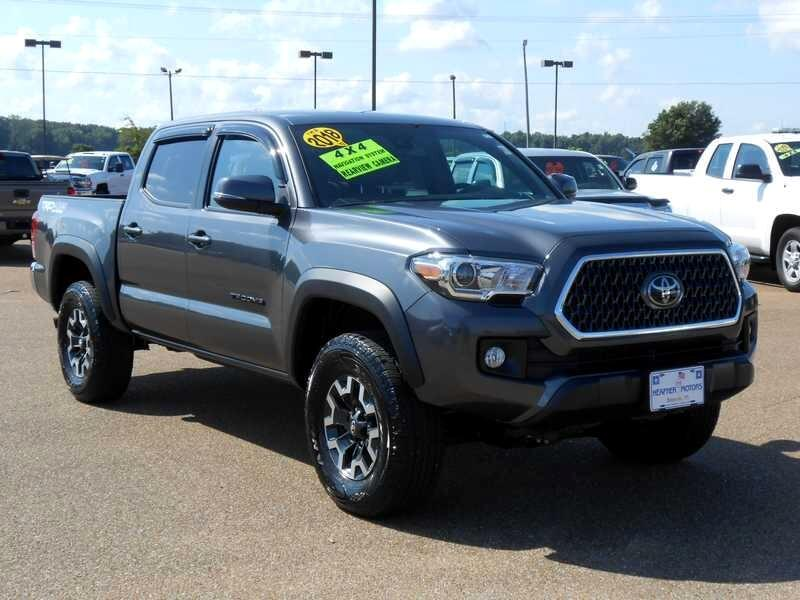 Toyota Tacoma 4WD Double Cab V6 AT TRD Off Road (Natl) 2018
