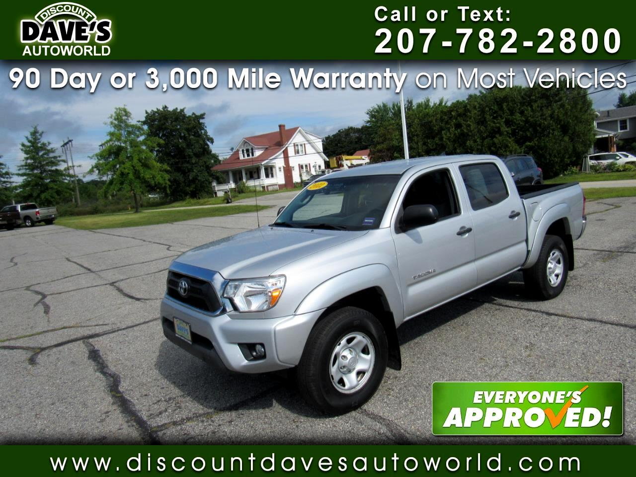 2012 Toyota Tacoma 4WD Double V6 AT (Natl)