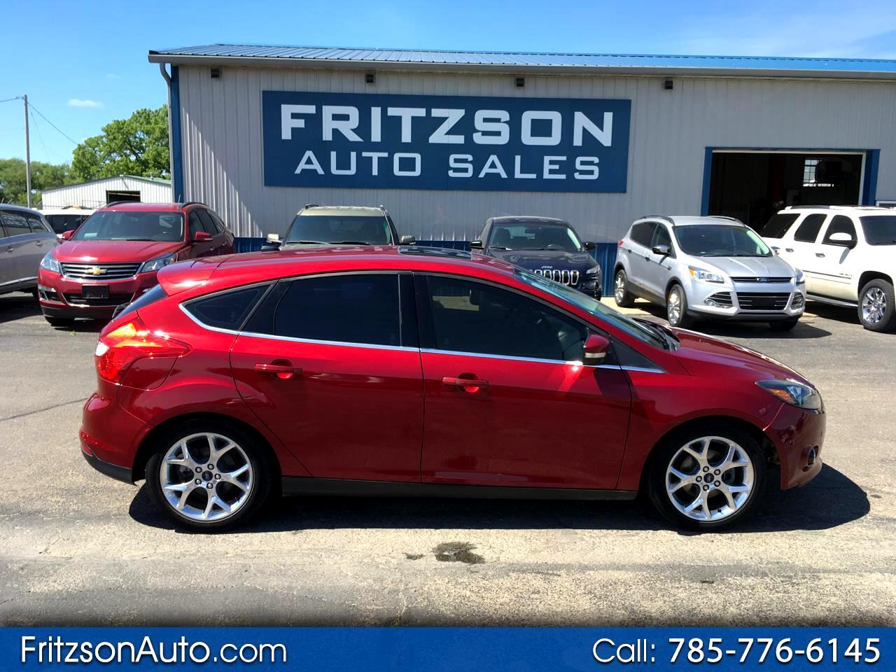Ford Focus Titanium Hatch 2013