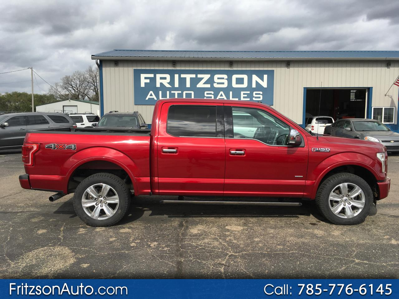 Ford F-150 Platinum SuperCrew 5.5-ft. Bed 4WD 2016