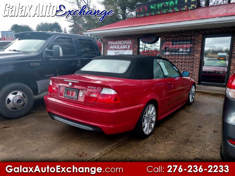 2006 BMW 3-Series 330Ci convertible