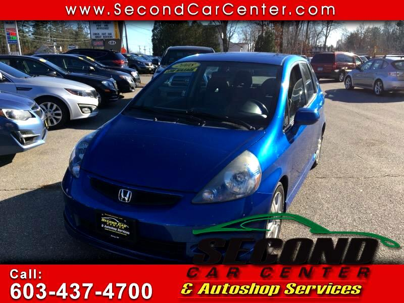 Honda Fit Sport 5-Speed AT 2008