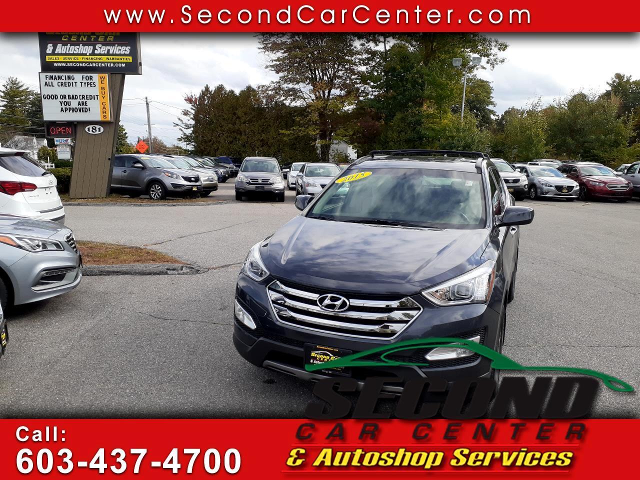 Hyundai Santa Fe Sport AWD 4dr 2.4 2015