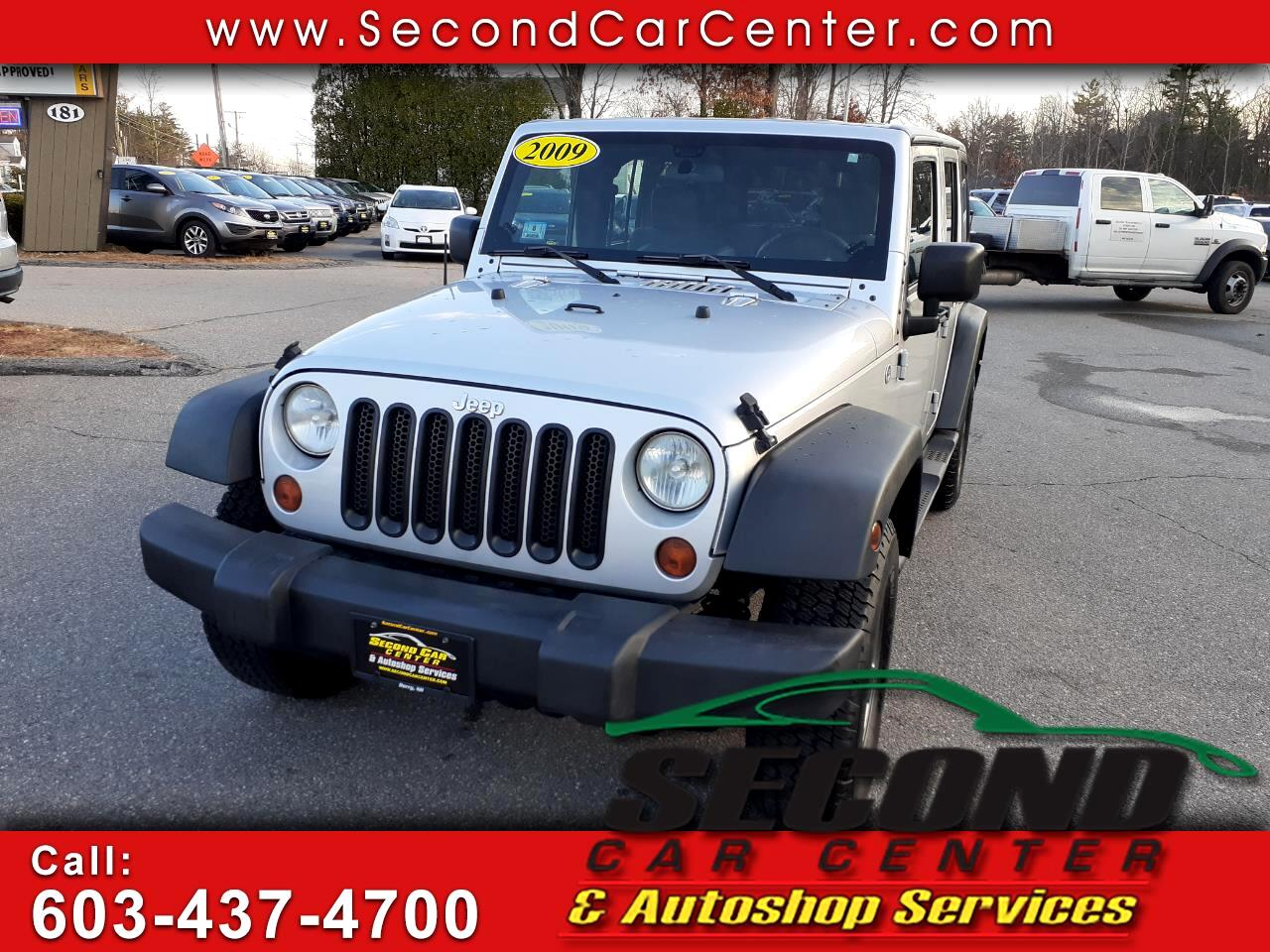 Jeep Wrangler Unlimited 4WD 4dr X 2009