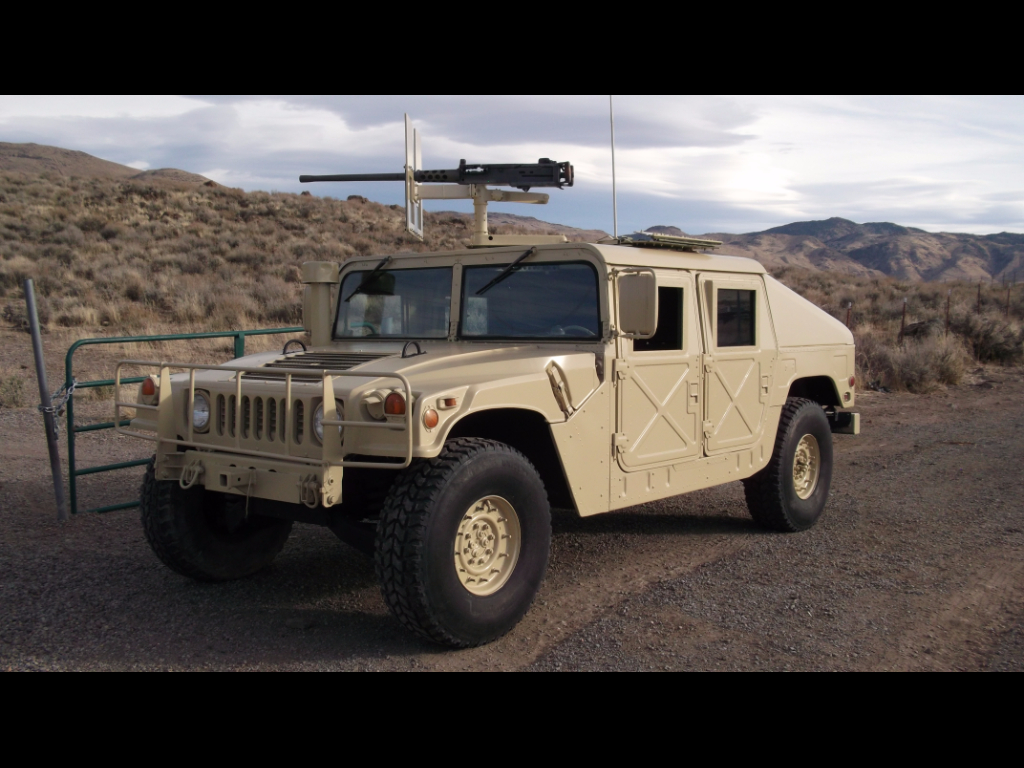1992 AM General Hummer Slant Back